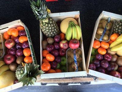 A) Fruit pakket medium